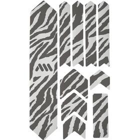 All Mountain Style Extra Kit di Protezione del Telaio 10 Pezzi, trasparente/nero